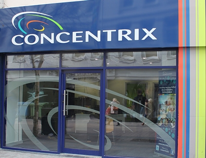 Concentrix-lightboxes-illuminated-sign