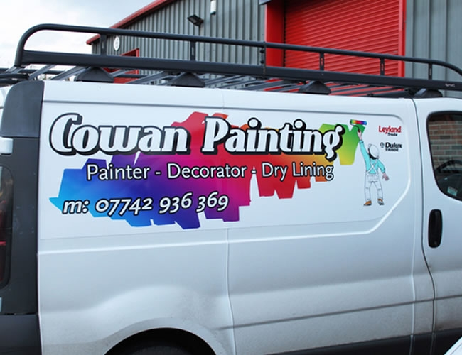Cowan-painting-magnetic-signs-2