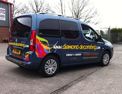 Diamond-decorating-vinyl-graphics