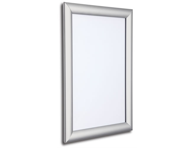 25mm snap frame silver
