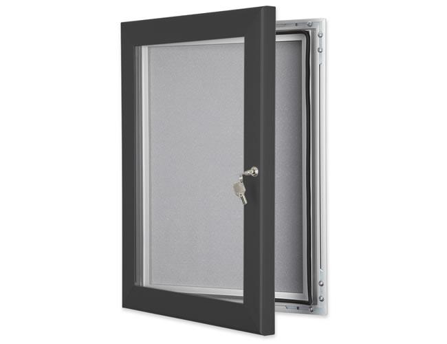 Key lock pin board slate grey
