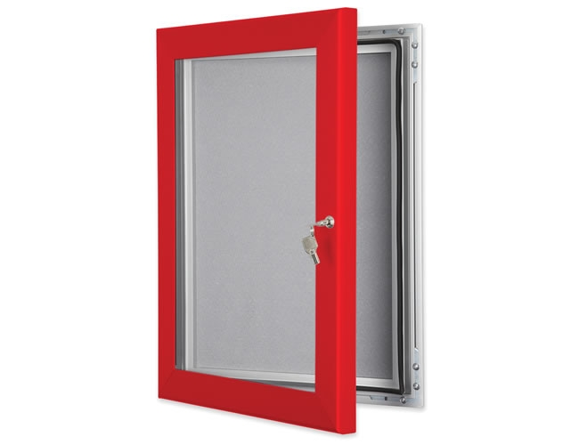 Key lock pin board traffic red