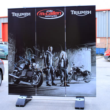 Freestanding Outdoor Banners