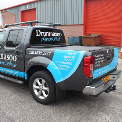 Vinyl Cut Vehicle Lettering